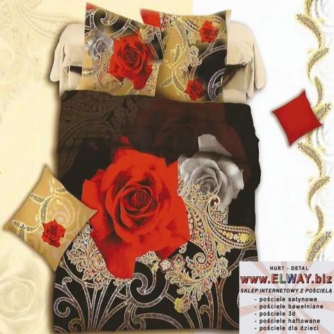 Pościel 180/200 piękne róże 3d