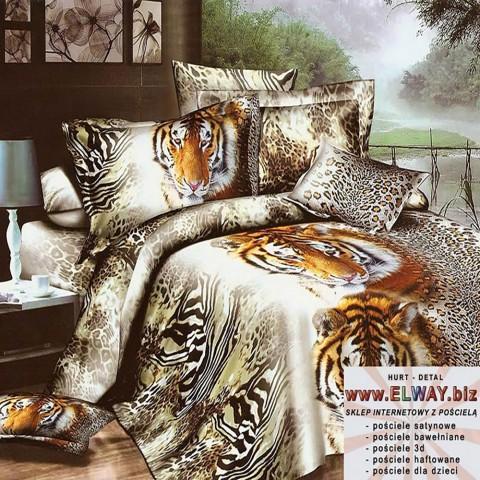Pościel 3d z tygrysem 200x220
