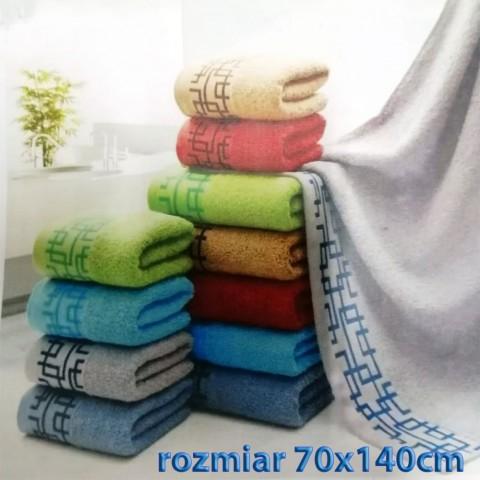 Ręcznik bawełniany frotte 70x140 wz1