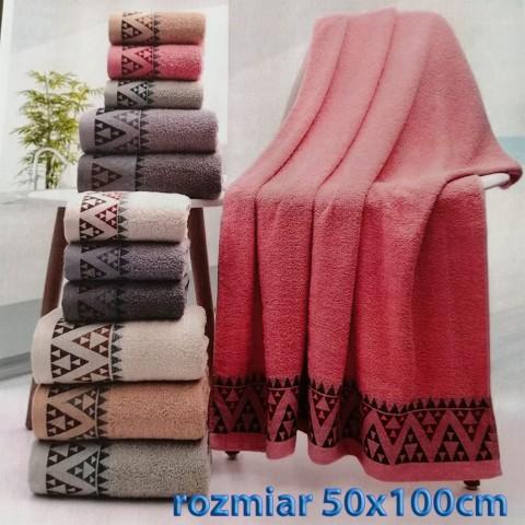 Ręcznik bawełniany frotte 50x100 wz4