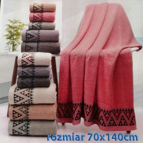 Ręcznik bawełniany frotte 70x140 wz4