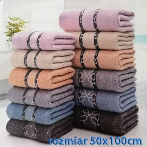 Ręcznik bawełniany frotte 50x100 wz7