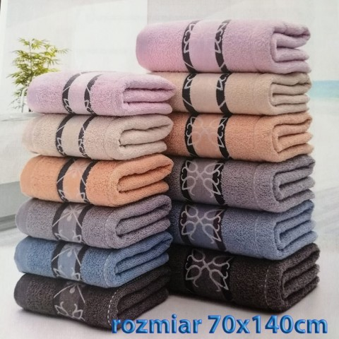 Ręcznik bawełniany frotte 70x140 wz7