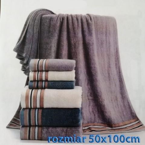 Ręcznik bawełniany frotte 50x100 wz8