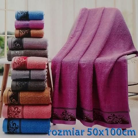 Ręcznik bawełniany frotte 50x100 wz10