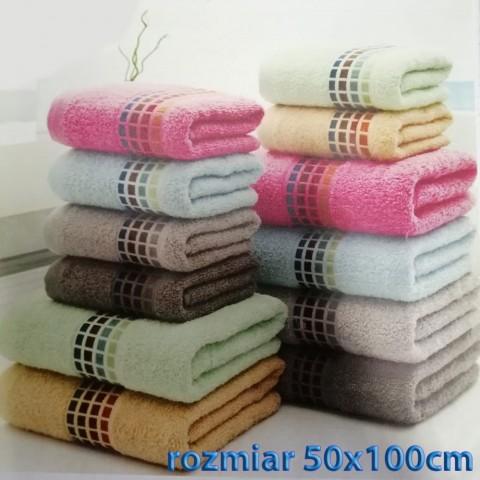 Ręcznik bawełniany frotte 50x100 wz12