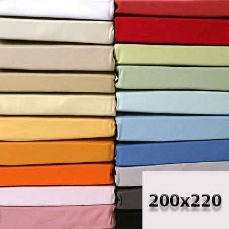 Prześcieradła 200x220 bawełniane bez gumki