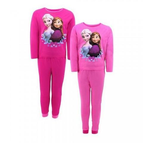 Piżama dla dziewczynki zestaw długi rękaw ELZA Frozen