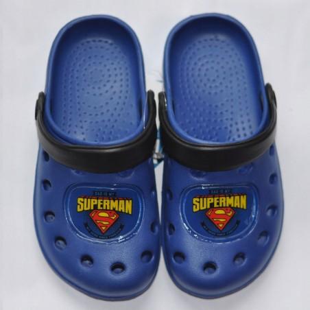 Klapki typu crocs Superman 23/24 27/28 33/34