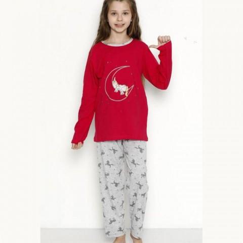 Piżama dziewczęca z jednorożcem 122 128 134 140 146 152