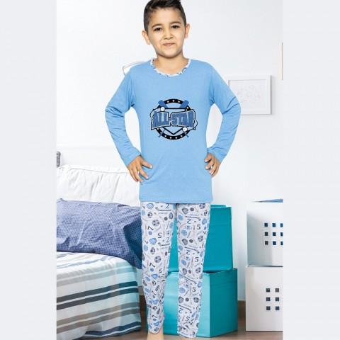 Piżama chłopięca sportowa 134 140 146 152 158 164